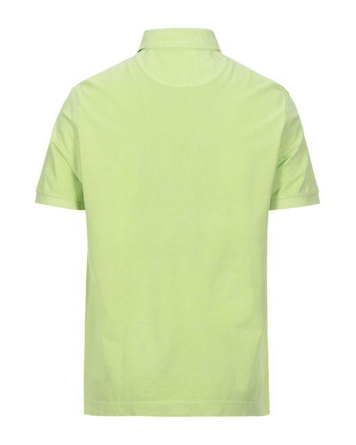 Della Ciana Polo da uomo di colore verde