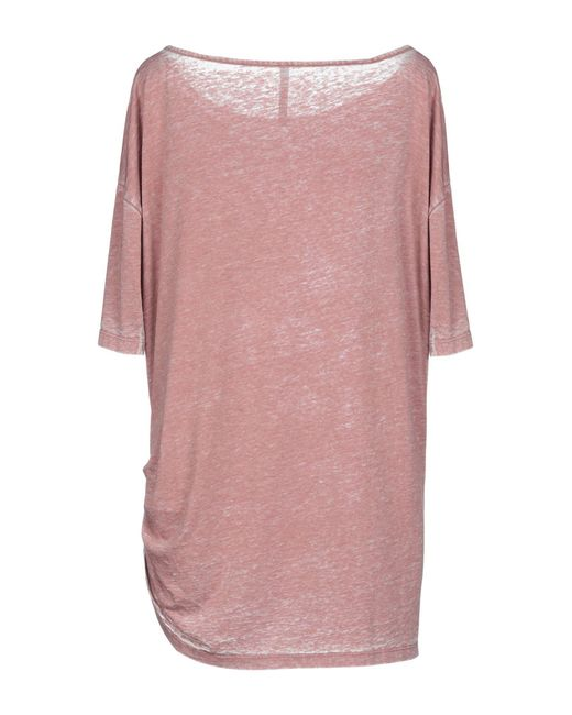 3217951fa3c8c ... Manila Grace - Pink T-shirt - Lyst