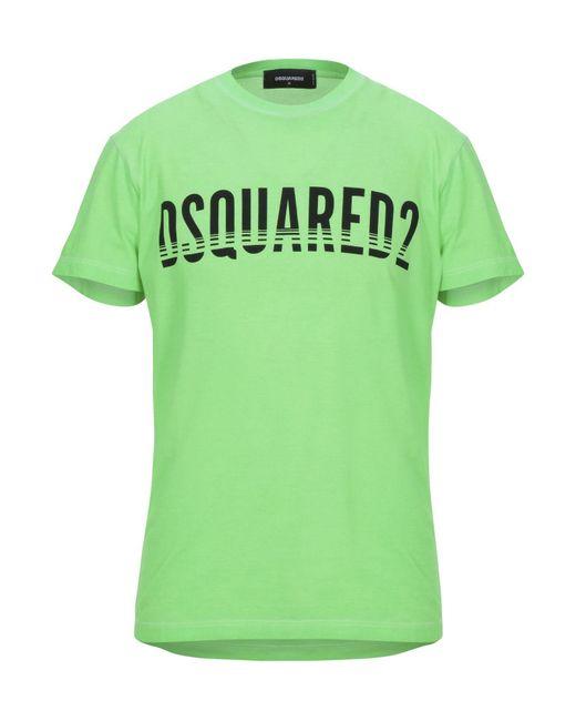 T-shirt di DSquared² in Green da Uomo