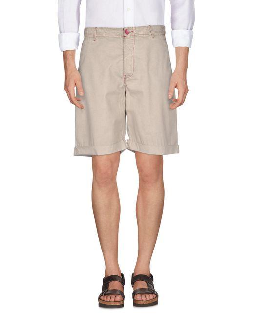 Armani Jeans - Natural Bermuda Shorts for Men - Lyst