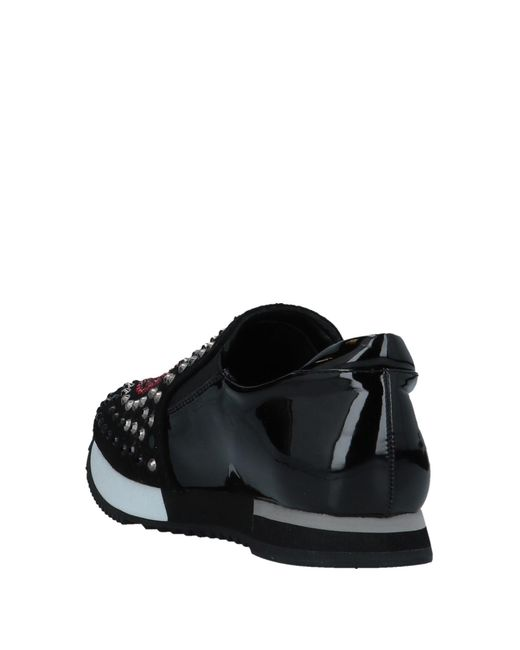 Love Moschino Black Low-tops & Sneakers