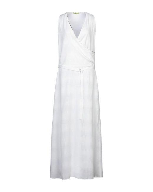 Vestito lungo di Versace Jeans in White