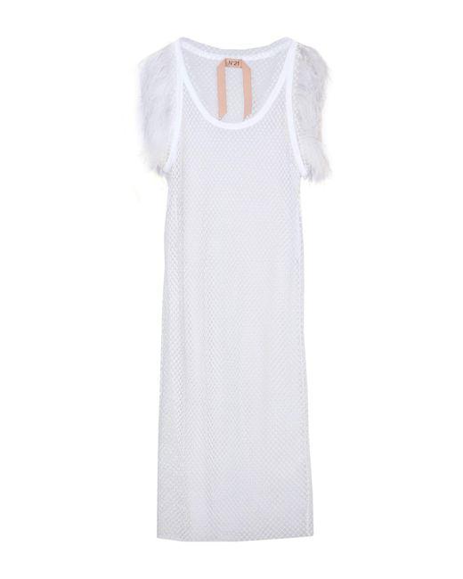 N°21 White 3/4 Length Dress