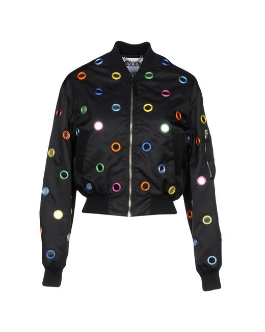 Moschino - Black Jacket - Lyst