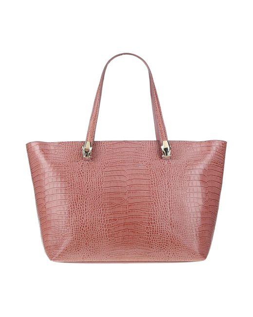 Class Roberto Cavalli Pink Handbag
