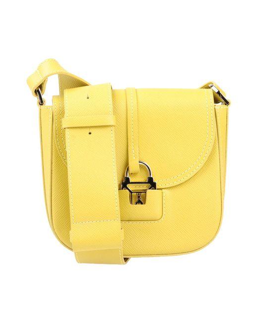 Patrizia Pepe | Yellow Cross-body Bag | Lyst
