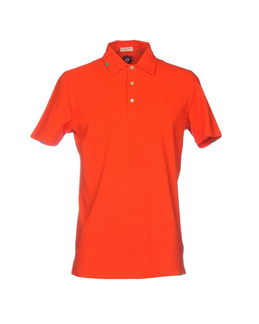 Altea - Orange Polo Shirts for Men - Lyst