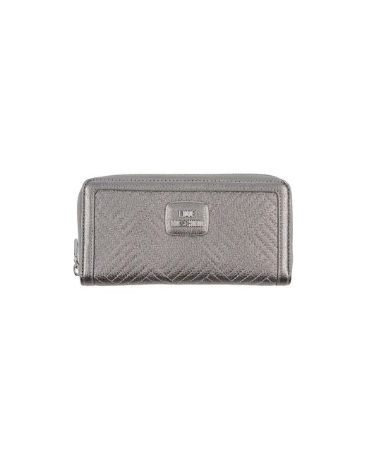 Love Moschino - Gray Wallet - Lyst