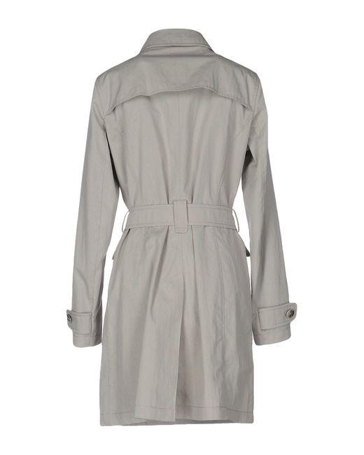 Herno Gray Overcoat