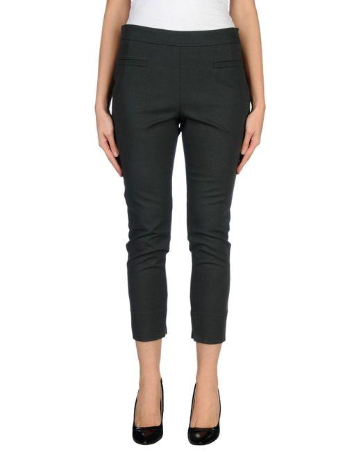 ODEEH - Black Casual Trouser - Lyst