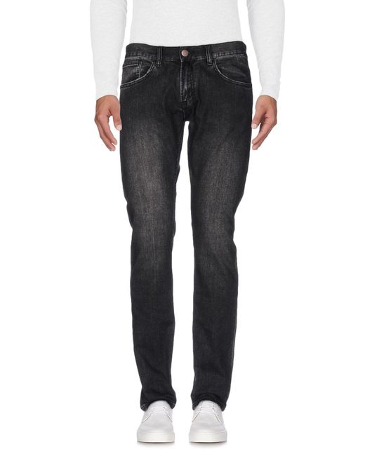 Sun 68 - Black Denim Trousers for Men - Lyst