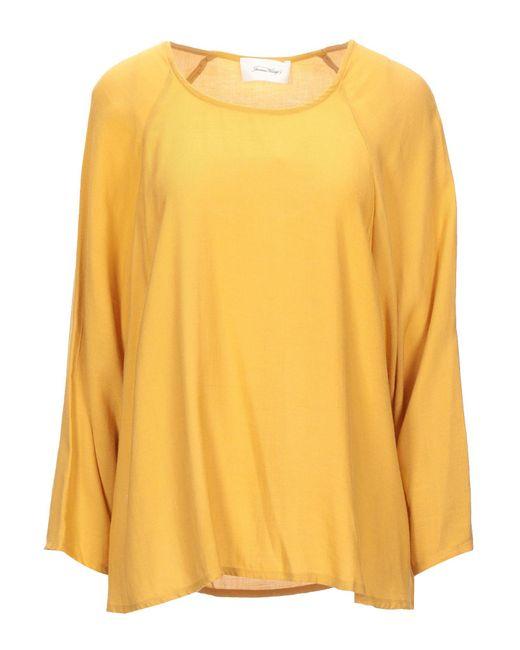 Blusa di American Vintage in Yellow
