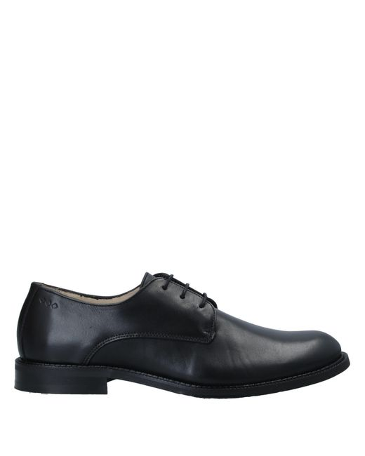 Zapatos de cordones Royal Republiq de hombre de color Black