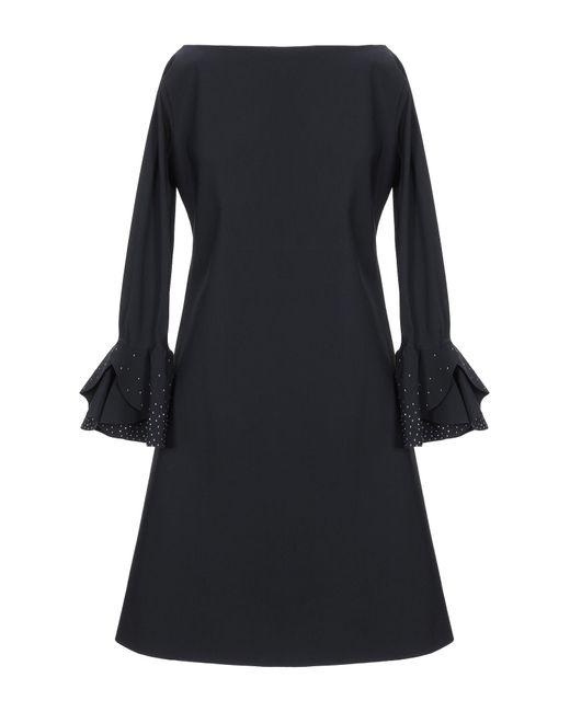 Minivestido La Petite Robe Di Chiara Boni de color Black