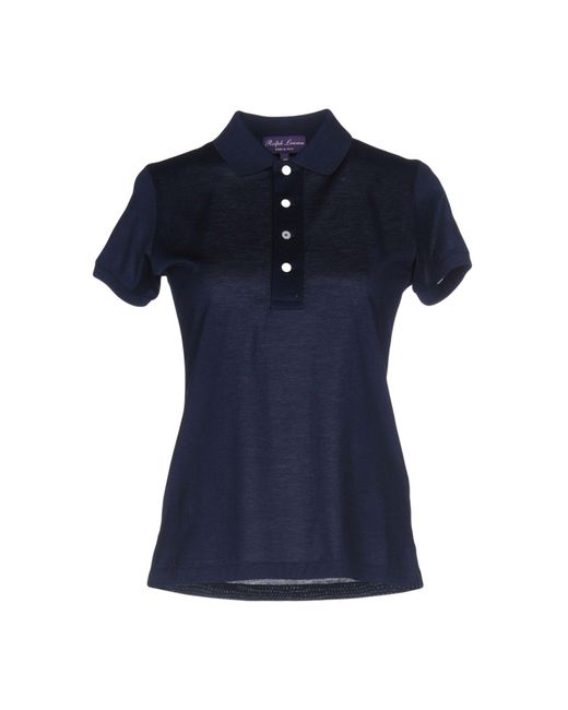 Ralph Lauren Collection - Blue Polo Shirts - Lyst
