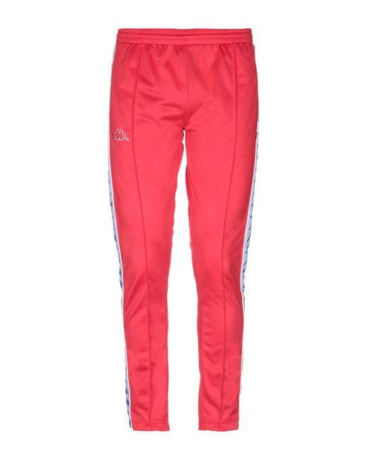 Pantalones Kappa de hombre de color Red