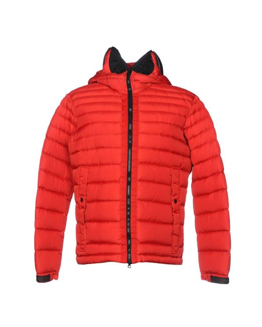 Ai Riders On The Storm - Red Down Jacket for Men - Lyst