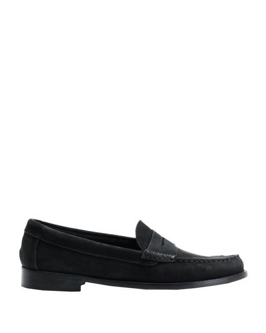 8 by YOOX Black Loafer for men