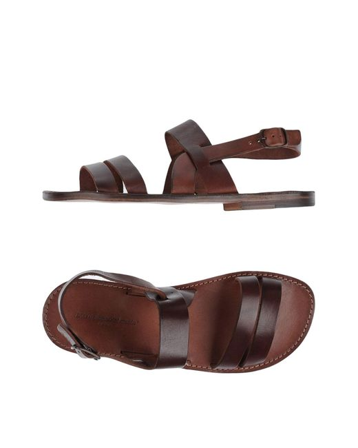 L'artigiano Del Cuoio Brown Sandals for men