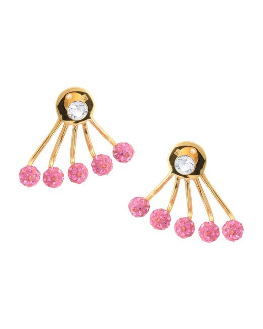 Ca&Lou - Pink Earrings - Lyst