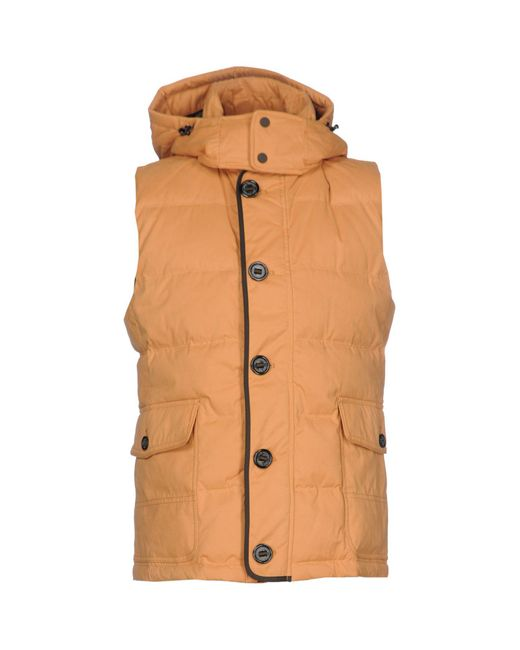 Jan Mayen - Orange Down Jacket for Men - Lyst