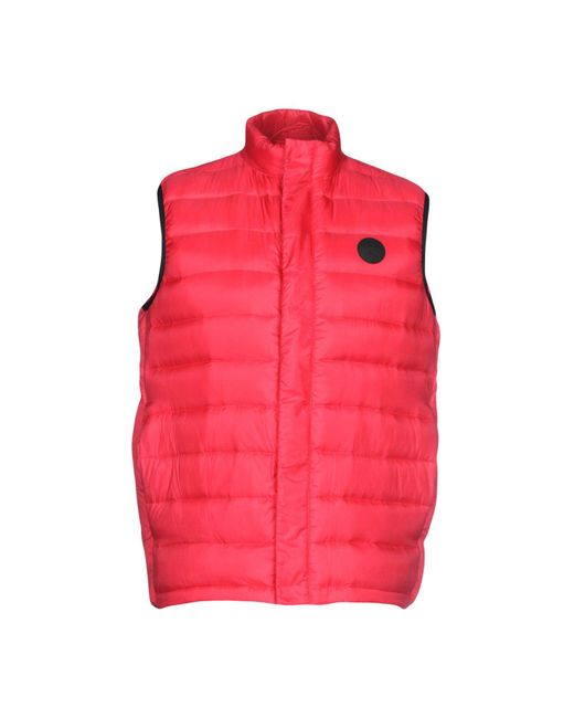 PS by Paul Smith Red Down Jacket for men