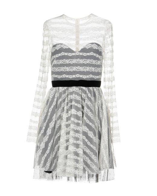 Philosophy Di Lorenzo Serafini - White Short Dress - Lyst