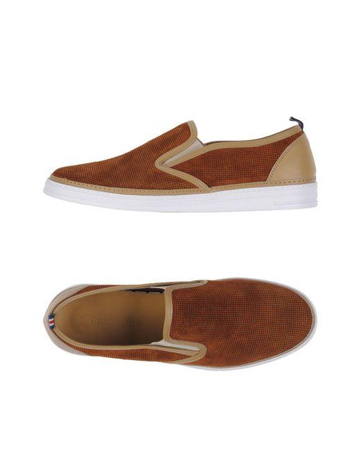 Brimarts - Brown Low-tops & Sneakers for Men - Lyst