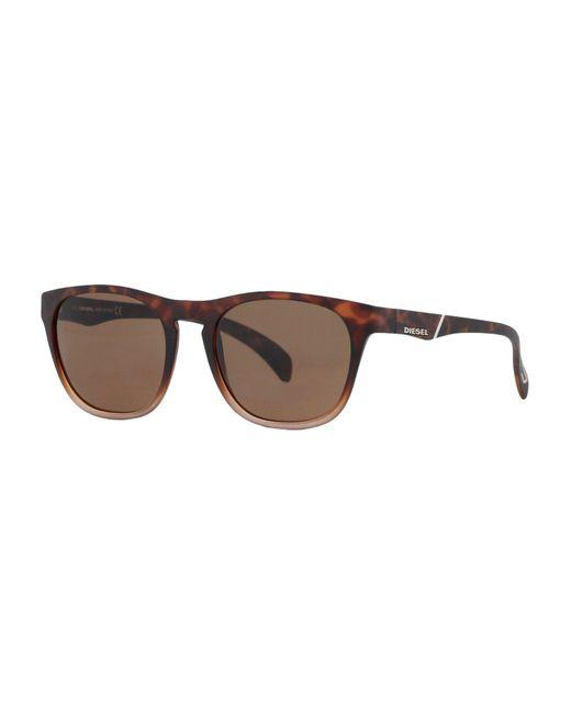 DIESEL - Brown Sunglasses for Men - Lyst