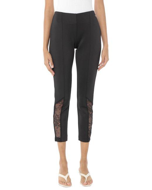 TWINSET UNDERWEAR Black Leggings
