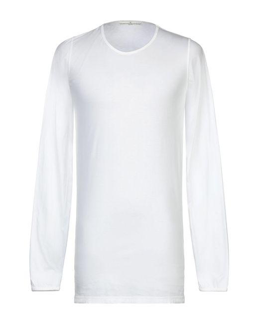 Golden Goose Deluxe Brand T-shirt da uomo di colore bianco