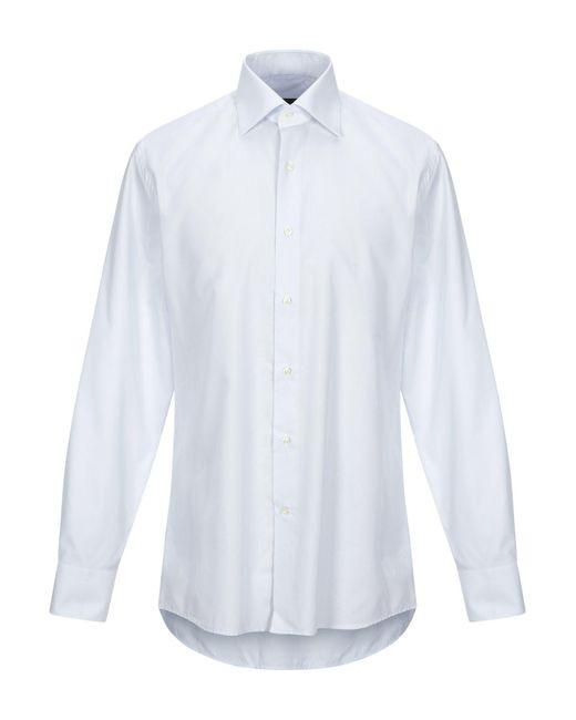 Emanuel Ungaro Camicia da uomo di colore bianco