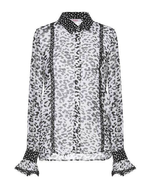 Blugirl Blumarine Camicia da donna di colore bianco