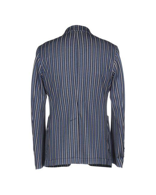 John Sheep Blue Suit Jacket for men
