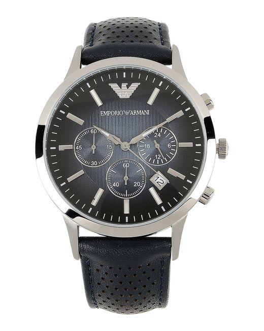Emporio Armani | Black Wrist Watch for Men | Lyst