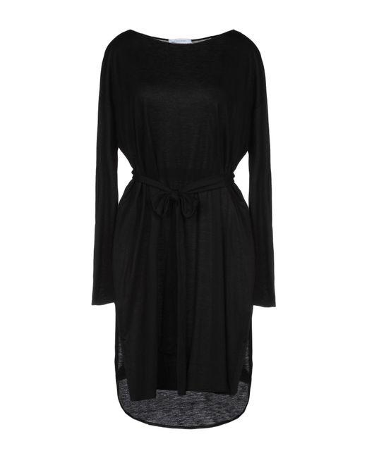 Robe courte Cruciani en coloris Black
