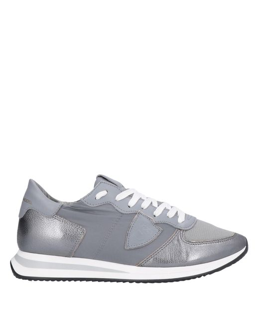 Philippe Model Gray Low-tops & Sneakers
