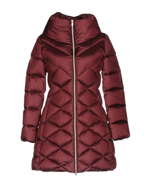 313 Tre Uno Tre - Red Down Jackets - Lyst
