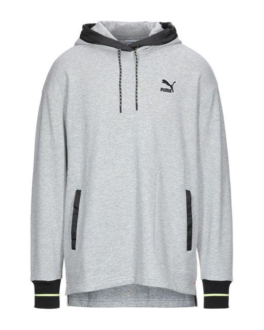 PUMA Gray Sweatshirt for men