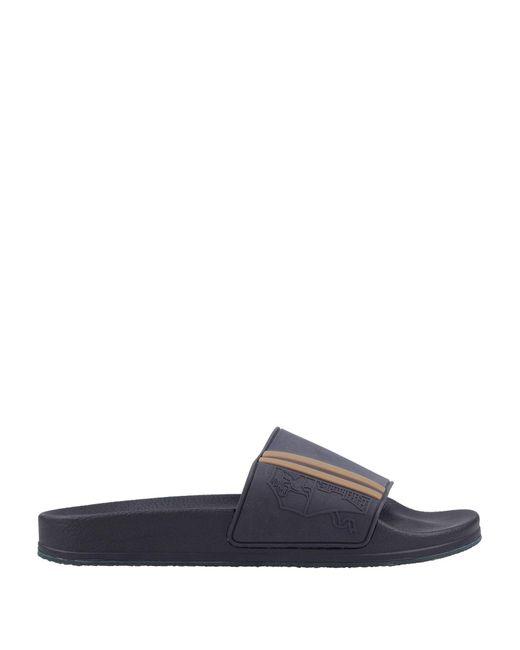 Brunello Cucinelli Blue Sandals for men