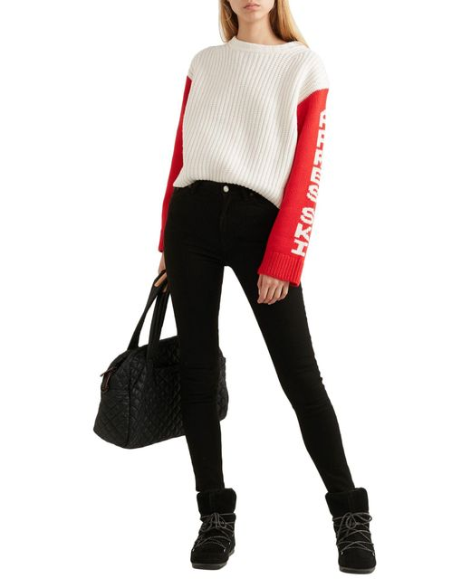 Tory Sport White Pullover