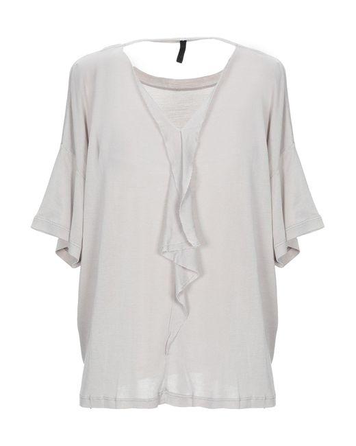 Unravel Project Camiseta de mujer de color gris gU0mi