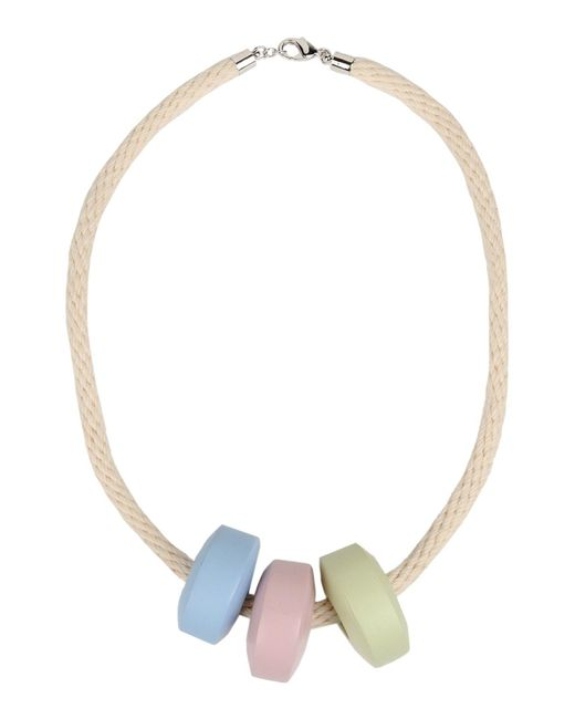 MM6 by Maison Martin Margiela | Natural Necklace | Lyst