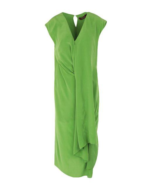 Vestido por la rodilla Sies Marjan de color Green