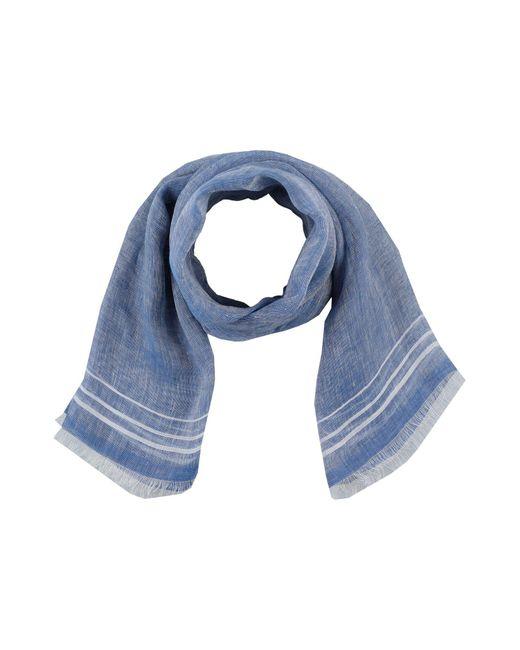 Fiorio - Blue Oblong Scarf for Men - Lyst