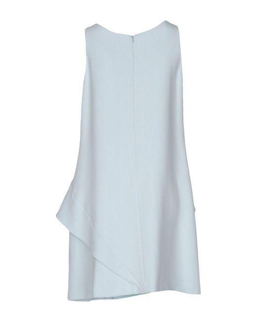 Emporio Armani Blue Short Dress