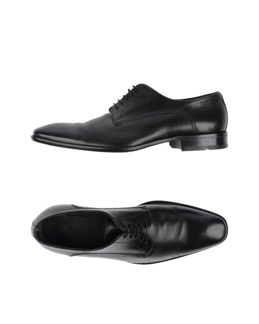 BOSS by Hugo Boss Black Lace-up Shoe for men