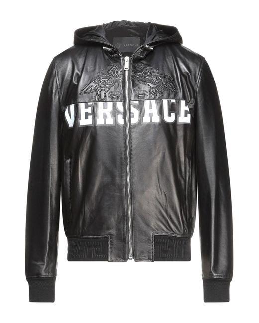 Cazadora Versace de hombre de color Black