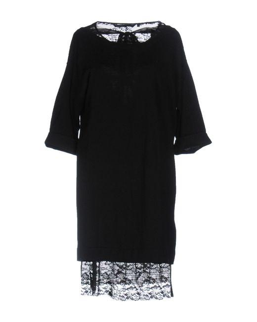 Silvian Heach | Black Short Dress | Lyst