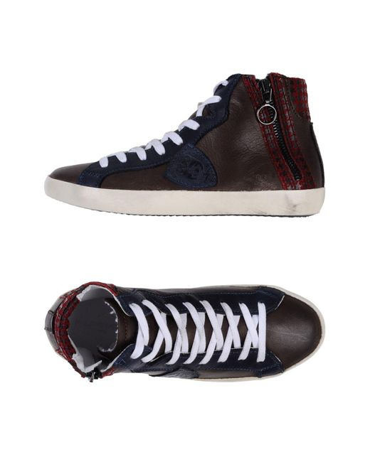 Philippe Model - Brown High-tops & Sneakers for Men - Lyst